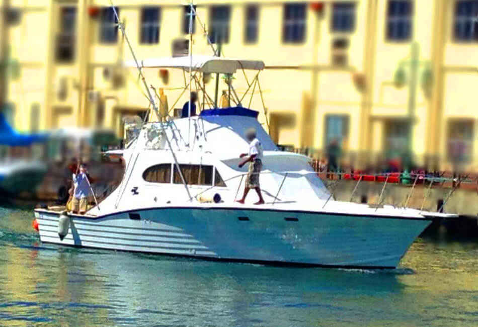 36 Ft Sportfisherman Custom Built Motorboat