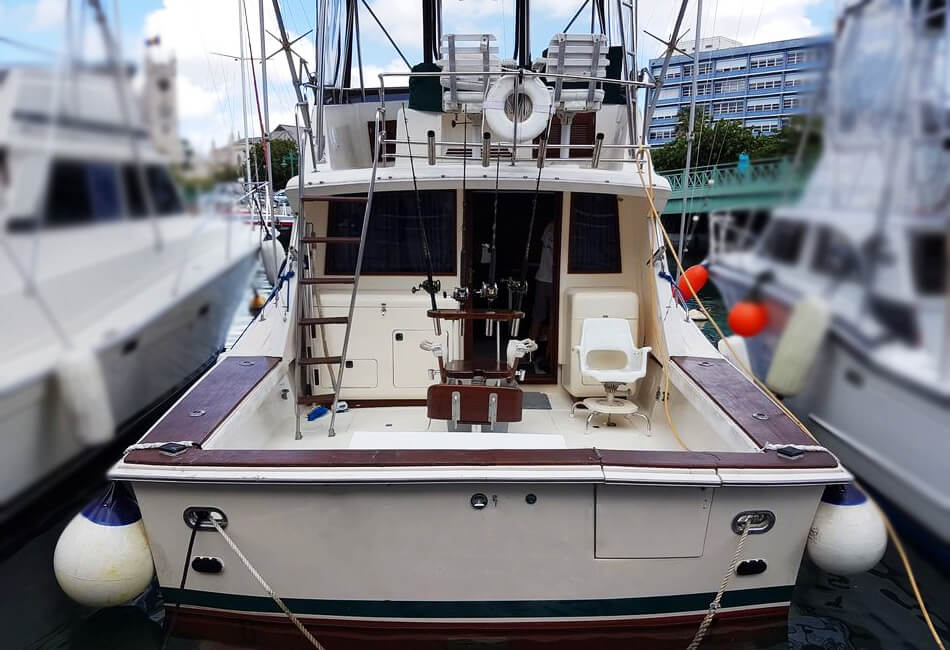 37 Ft Custom Sportfishermen