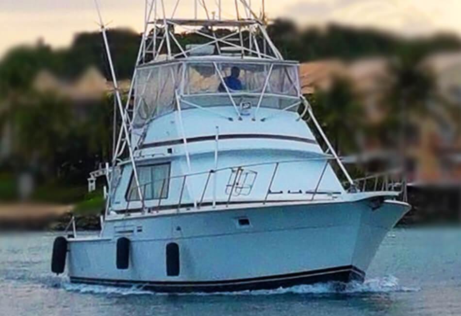 42 Ft Bertram Sportsfisherman Motor Yacht
