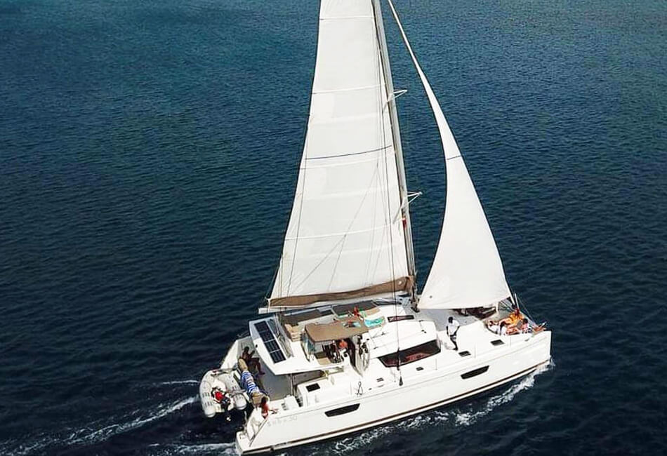 50 ft Luxury Catamaran